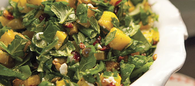 Kale Butternut Chopped Salad