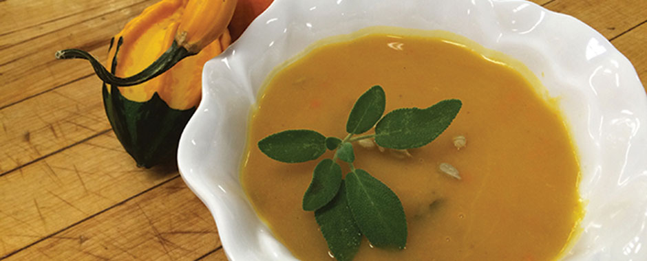 Sweet Potato & Apple Soup